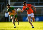 29 May 2021; Ross McQuillan of Armagh in action against Eoghan Bán Gallagher of Donegal during the Allianz Football League Division 1 North Round 3 match between Armagh and Donegal at the Athletic Grounds in Armagh. Photo by Piaras Ó Mídheach/Sportsfile