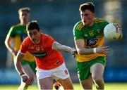 29 May 2021; Niall O'Donnell of Donegal in action against Rory Grugan of Armagh during the Allianz Football League Division 1 North Round 3 match between Armagh and Donegal at the Athletic Grounds in Armagh. Photo by Piaras Ó Mídheach/Sportsfile