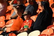 29 May 2021; Supporters look on during the Allianz Football League Division 1 North Round 3 match between Armagh and Donegal at the Athletic Grounds in Armagh. Photo by Piaras Ó Mídheach/Sportsfile
