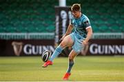 4 June 2021; Garry Ringrose of Leinster in action during the Guinness PRO14 Rainbow Cup match between Glasgow Warriors and Leinster at Scotstoun Stadium in Glasgow, Scotland. Photo by Ross MacDonald/Sportsfile