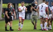 5 June 2021; Ian Madigan of Ulster celebrates after the Guinness PRO14 Rainbow Cup match between Edinburgh and Ulster at BT Murrayfield Stadium in Edinburgh, Scotland. Photo by Paul Devlin/Sportsfile