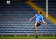 5 June 2021; Hannah Tyrrell of Dublin kicks a point during the Lidl Ladies Football National League Division 1B Round 3 match between Tipperary and Dublin at Semple Stadium in Thurles, Tipperary. Photo by Seb Daly/Sportsfile