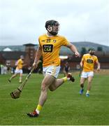 5 June 2021; Ciaran Clarke of Antrim during the Allianz Hurling League Division 1 Group B Round 4 match between Antrim and Wexford at Corrigan Park in Belfast. Photo by David Fitzgerald/Sportsfile