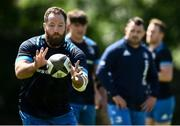 7 June 2021; Michael Bent during Leinster Rugby squad training at UCD in Dublin. Photo by David Fitzgerald/Sportsfile