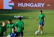 7 June 2021; Jamie McGrath during a Republic of Ireland training session at Szusza Ferenc Stadion in Budapest, Hungary. Photo by Alex Nicodim/Sportsfile