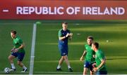 7 June 2021; Damien Doyle, head of athletic performance, during a Republic of Ireland training session at Szusza Ferenc Stadion in Budapest, Hungary. Photo by Alex Nicodim/Sportsfile