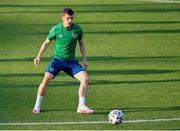 7 June 2021; Jason Knight during a Republic of Ireland training session at Szusza Ferenc Stadion in Budapest, Hungary. Photo by Alex Nicodim/Sportsfile