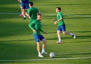 7 June 2021; Conor Hourihane during a Republic of Ireland training session at Szusza Ferenc Stadion in Budapest, Hungary. Photo by Alex Nicodim/Sportsfile
