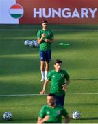 7 June 2021; Danny Mandroiu during a Republic of Ireland training session at Szusza Ferenc Stadion in Budapest, Hungary. Photo by Alex Nicodim/Sportsfile