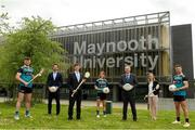 8 June 2021; Dr John McGinnity,centre, Maynooth University Admissions Officer, pictured with from left, Maynooth University GAA players Kilkenny hurler Conor Drennan, Tom Parsons, recently appointed CEO of the GPA, Paul Davis, Maynooth University Head of Sport. Meath Ladies Footballer Mary Kate Lynch, Jenny Duffy, GAA Development Manager at Maynooth University and Kildare footballerShane O'Sullivan at the launch of the new scholarship agreement between the Gaelic Players Association (GPA) and Maynooth University. Under the agreement, four fully-funded scholarships will be available to inter-county players annually, with successful applicants to be known as 'Maynooth University/GPA Scholars'. Photo by Matt Browne/Sportsfile