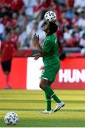 8 June 2021; Chiedozie Ogbene of Republic of Ireland before the international friendly match between Hungary and Republic of Ireland at Szusza Ferenc Stadion in Budapest, Hungary. Photo by Alex Nicodim/Sportsfile