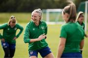 8 June 2021; Louise Quinn during a Republic of Ireland women training session at Versalavollur in Reykjavik, Iceland. Photo by Eythor Arnason/Sportsfile
