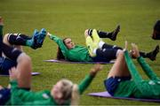 8 June 2021; Jessica Ziu during a Republic of Ireland women training session at Versalavollur in Reykjavik, Iceland. Photo by Eythor Arnason/Sportsfile
