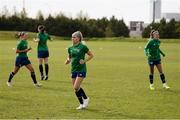 8 June 2021; Denise O'Sullivan during a Republic of Ireland women training session at Versalavollur in Reykjavik, Iceland. Photo by Eythor Arnason/Sportsfile