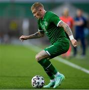 8 June 2021; James McClean of Republic of Ireland during the international friendly match between Hungary and Republic of Ireland at Szusza Ferenc Stadion in Budapest, Hungary. Photo by Alex Nicodim/Sportsfile