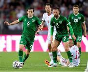 8 June 2021; Josh Cullen of Republic of Ireland during the international friendly match between Hungary and Republic of Ireland at Szusza Ferenc Stadion in Budapest, Hungary. Photo by Alex Nicodim/Sportsfile