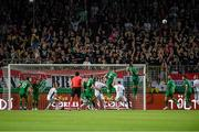 8 June 2021; A general view the action during the international friendly match between Hungary and Republic of Ireland at Szusza Ferenc Stadion in Budapest, Hungary. Photo by Alex Nicodim/Sportsfile