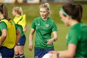 8 June 2021; Éabha O'Mahony during a Republic of Ireland women training session at Versalavollur in Reykjavik, Iceland. Photo by Eythor Arnason/Sportsfile