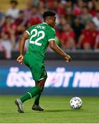8 June 2021; Chiedozie Ogbene of Republic of Ireland during the international friendly match between Hungary and Republic of Ireland at Szusza Ferenc Stadion in Budapest, Hungary. Photo by Alex Nicodim/Sportsfile