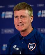 8 June 2021; Republic of Ireland manager Stephen Kenny following the international friendly match between Hungary and Republic of Ireland at Szusza Ferenc Stadion in Budapest, Hungary. Photo by Alex Nicodim/Sportsfile