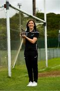 9 June 2021; Cork footballer Ciara O'Sullivan with her PwC GPA Women's Player of the Month in Football at Clyda Rovers GAA Club in Mourneabbey, Co. Cork. Photo by Matt Browne/Sportsfile