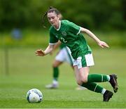 9 June 2021; Melissa O'Kane of Republic of Ireland during the Women's U19 International Friendly between Republic of Ireland and Northern Ireland at AUL Complex in Dublin. Photo by Piaras Ó Mídheach/Sportsfile