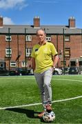 """10 June 2021; Former Republic of Ireland and St Patrick's Athletic manager and Football for Unity ambassador Brian Kerr pictured at the launch of the Football for Unity Festival which will take place at venues across the north east inner city of Dublin from Monday 14th of June to Friday 16th of July. The Football for Unity Festival aims to foster the social inclusion of third-country nationals sustainably through active participation in football-based initiatives. For more information visit - www.footballforunity.ie"""".  Photo by Brendan Moran/Sportsfile"""