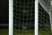 9 June 2021; A general view of a goal net during the Women's U19 International Friendly between Republic of Ireland and Northern Ireland at AUL Complex in Dublin. Photo by Piaras Ó Mídheach/Sportsfile