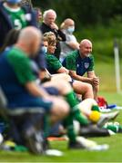 9 June 2021; Republic of Ireland head coach Dave Connell before the Women's U19 International Friendly between Republic of Ireland and Northern Ireland at AUL Complex in Dublin. Photo by Piaras Ó Mídheach/Sportsfile
