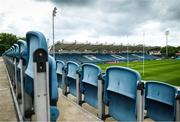 10 June 2021; A general view of the RDS Arena ahead of Leinster Rugby's Guinness PRO14 Rainbow Cup game against Dragons on Friday, 11 June. The game has been designated a test event by the Irish Government whereby 1,200 supporters will be allowed access to attend the match. Photo by Stephen McCarthy/Sportsfile