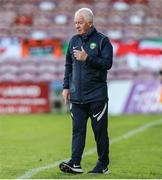 11 June 2021; Cabinteely manager Pat Devlin during the SSE Airtricity League First Division match between Cork City and Cabinteely at Turners Cross in Cork. Photo by Michael P Ryan/Sportsfile