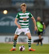 11 June 2021; Liam Scales of Shamrock Rovers during the SSE Airtricity League Premier Division match between Shamrock Rovers and Finn Harps at Tallaght Stadium in Dublin. The game is one of the first of a number of pilot sports events over the coming weeks which are implementing guidelines set out by the Irish government to allow for the safe return of spectators to sporting events. Photo by Stephen McCarthy/Sportsfile