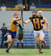 12 June 2021; Walter Walsh of Kilkenny in action against John Conlon of Clare during the Allianz Hurling League Division 1 Group B Round 5 match between Clare and Kilkenny at Cusack Park in Ennis, Clare. Photo by Ramsey Cardy/Sportsfile