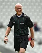 12 June 2021; Referee Cormac Reilly during the Allianz Football League Division 2 Relegation play-off match between Cork and Westmeath at Páirc Uí Chaoimh in Cork. Photo by Eóin Noonan/Sportsfile