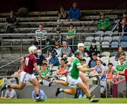 13 June 2021; Spectators watch the action from the stand during the Allianz Hurling League Division 1 Group A Round 5 match between Westmeath and Limerick at TEG Cusack Park in Mullingar, Westmeath. Photo by Seb Daly/Sportsfile