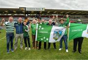 13 June 2021; Limerick supporters following the Allianz Hurling League Division 1 Group A Round 5 match between Westmeath and Limerick at TEG Cusack Park in Mullingar, Westmeath. Photo by Seb Daly/Sportsfile