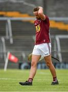 13 June 2021; Aaron Craig of Westmeath following his side's defeat to Limerick in their Allianz Hurling League Division 1 Group A Round 5 match at TEG Cusack Park in Mullingar, Westmeath. Photo by Seb Daly/Sportsfile