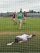 13 June 2021; Westmeath goalkeeper Noel Conaty after conceding a second goal during the Allianz Hurling League Division 1 Group A Round 5 match between Westmeath and Limerick at TEG Cusack Park in Mullingar, Westmeath. Photo by Seb Daly/Sportsfile