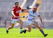 13 June 2021; Mark Coleman of Cork in action against Conor Whelan of Galway during the Allianz Hurling League Division 1 Group A Round 5 match between Cork and Galway at Páirc Ui Chaoimh in Cork. Photo by Eóin Noonan/Sportsfile