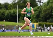 13 June 2021; Elizabeth Morland of Cushinstown AC, Meath, competing in the 800m event of the Senior Heptathlon during day two of the AAI Games & Combined Events Championships at Morton Stadium in Santry, Dublin. Photo by Sam Barnes/Sportsfile