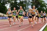 13 June 2021; A general view of the start of the Senior Women's 1500m during day two of the AAI Games & Combined Events Championships at Morton Stadium in Santry, Dublin. Photo by Sam Barnes/Sportsfile
