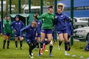 13 June 2021; Keeva Keenan and Aoife Colvill, right, during a Republic of Ireland training session at Laugardalsvollur in Reykjavik, Iceland. Photo by Eythor Arnason/Sportsfile