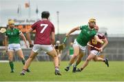 13 June 2021; Tom Morrissey of Limerick during the Allianz Hurling League Division 1 Group A Round 5 match between Westmeath and Limerick at TEG Cusack Park in Mullingar, Westmeath. Photo by Seb Daly/Sportsfile