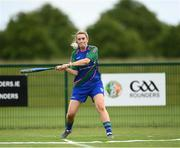 13 June 2021; Yvonne Hanley of Glynn Barntown bats during the Ladies Senior Rounders Final 2020 match between Breaffy and Glynn Barntown at GAA centre of Excellence, National Sports Campus in Abbotstown, Dublin. Photo by Harry Murphy/Sportsfile