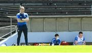 13 June 2021; Waterford manager Liam Cahill and Austin Gleeson, right, during the Allianz Hurling League Division 1 Group A Round 5 match between Waterford and Tipperary at Walsh Park in Waterford. Photo by Stephen McCarthy/Sportsfile