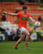13 June 2021; Rory Grugan of Armagh during the Allianz Football League Division 1 Relegation play-off match between Armagh and Roscommon at Athletic Grounds in Armagh. Photo by Ramsey Cardy/Sportsfile