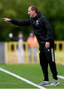 18 June 2021; Cork City manager Colin Healy during the SSE Airtricity League First Division match between Athlone Town and Cork City at Athlone Town Stadium in Athlone, Westmeath. Photo by Ramsey Cardy/Sportsfile
