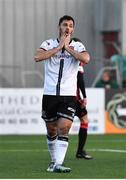 18 June 2021; Patrick Hoban of Dundalk reacts during the SSE Airtricity League Premier Division match between Dundalk and Longford Town at Oriel Park in Dundalk, Louth. Photo by Eóin Noonan/Sportsfile