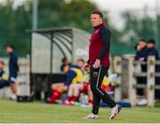 18 June 2021; Wexford manager Ian Ryan during the SSE Airtricity League First Division match between Wexford and Shelbourne at Ferrycarrig Park in Wexford. Photo by Michael P Ryan/Sportsfile