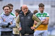 19 June 2021; Offaly manager John Maughan after the Allianz Football League Division 3 Final match between between Derry and Offaly at Croke Park in Dublin. Photo by Piaras Ó Mídheach/Sportsfile